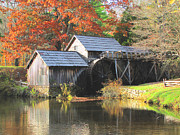 Grist Mill Art - Mabry Mill by Beckie Fitgerald