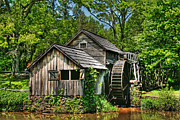 Old Mill Scenes Photos - Mabry Mill by Heather Allen