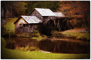 Grist Mill Posters - Mabry Mill in the Light Poster by Olahs Photography