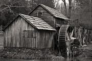 Grist Mill Posters - Mabry Mill Poster by Jerry Mann