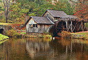 Mabry Mill Print by Marcia Colelli