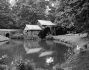 Grist Mills Photos - Mabry Mill by Mel Steinhauer
