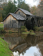 Scott Cunningham - Mabry Mill Reflection