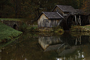 Jonas Wingfield Metal Prints - Mabry Mill Revisited Metal Print by Jonas Wingfield