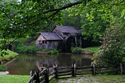 Mill Photographs Posters - Mabry Mill Poster by Stan Wikle