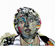 Fans Mixed Media - Mac by Brian Buckley