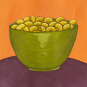 Wall Art Paintings - Macaroni and Cheese by Christy Beckwith