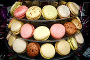 Fancy Framed Prints - Macaroons Framed Print by Olivier Le Queinec