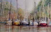 Piers Originals - Macatawa Morning by Sandra Strohschein