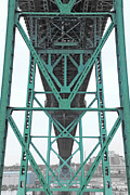 Shaun White Prints - MacDonald Bridge Halifax Print by Shaun White
