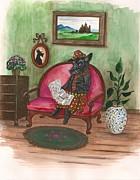 Macduff After Work Print by Margaryta Yermolayeva