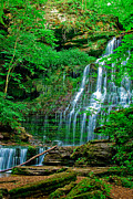 Tuscaloosa Photo Prints - Machine Falls Print by Brian McHugh