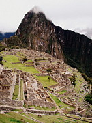 Machu Picchu Print by Ramona Johnston