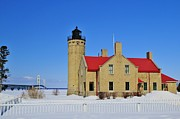 Flora Ehrlich - Mackinaw Point Lighthouse