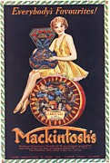 Candy Drawings - MackintoshÕs 1930s Uk Sweets Chocolate by The Advertising Archives