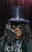 Slash Prints - Mad As A Hatter - Slash Print by Reggie Duffie