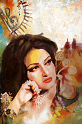 Dancer Paintings - Madam Noor Jehan by Catf