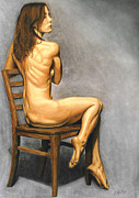 Joe Ogle Paintings - Madame Brooke by Joseph Ogle