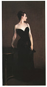 Gown Paintings - Madame X  by John Singer Sargent