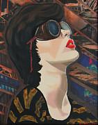 Maddiev Print by Miriam Tiritilli