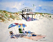 New Jersey Painting Originals - Made in the Shade by Brian Degnon