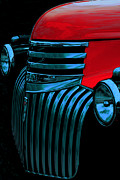 Chevy Pickup Prints - Made Of Steel Print by Jack Zulli