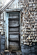 Wood Prints - Madelines Barn Print by Nina-Rosa Duddy