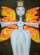 Mademoiselle Butterfly Print by Yelena Dyumin