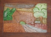 Dream Pyrography Prints - Madison Bridge Print by Brandon Baker ArtZen