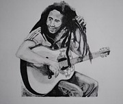Music Legend Drawings Originals - Madison by Graham Wood