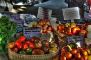 Fresh Produce Prints - Madison Heirlooms Print by David Bearden