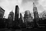 Manhatan Photo Prints - Madison Square Park Flatiron district new york city Print by Joe Fox