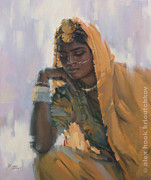 Alex Hook Krioutchkov Art - Madona of India IV by Alex Hook Krioutchkov