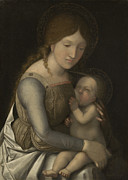 Madonna And Child Print by Andrea Mantegna