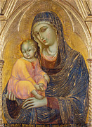 Famous Artists - Madonna and Child by Barnaba da Modena