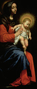 Baroque Prints - Madonna and Child Print by Carlo Dolci