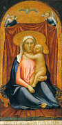 Famous Artists - Madonna and Child by Masaccio