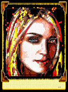 Madonna Digital Art Originals - Madonna by Daniel Janda