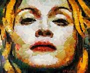 Madonna Print by Dragica  Micki Fortuna