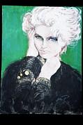 Madonna  Print by Marianne Edwards