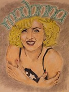 Michael Mcgrath Metal Prints - Madonna  Metal Print by Michael McGrath