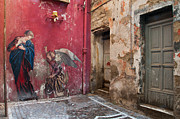 Alleyway Art - Madonna of the Alley by Marion Galt