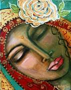 Madonna Of The First Breath Print by Maya Telford