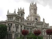 Carving Art - Madrid City Hall by Deborah Smolinske