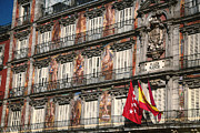 Espana Metal Prints - Madrid Murals Metal Print by Joan Carroll