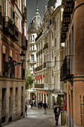Madrid Streets Print by Joan Carroll