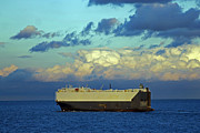 Car Carrier Photos - Maersk Wave by Tony Murtagh