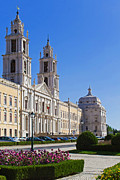 Architecture Prints - Mafra National Palace and Convent Print by Lusoimages  