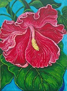Maga Flower Print by Susana Caban