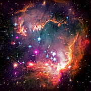 Space Art - Magellanic Cloud 2 by The  Vault - Jennifer Rondinelli Reilly